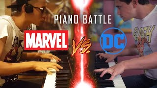 Download lagu DC vs Marvel - Piano Battle Mashup/Medley #1 ft. Jon Pumper