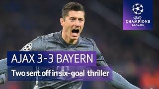 Ajax vs Bayern Munich (3-3) | UEFA Champions League Highlights