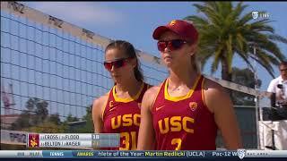 Beach Volleyball: USC 4, Arizona State 1 - Highlights 4/26/18