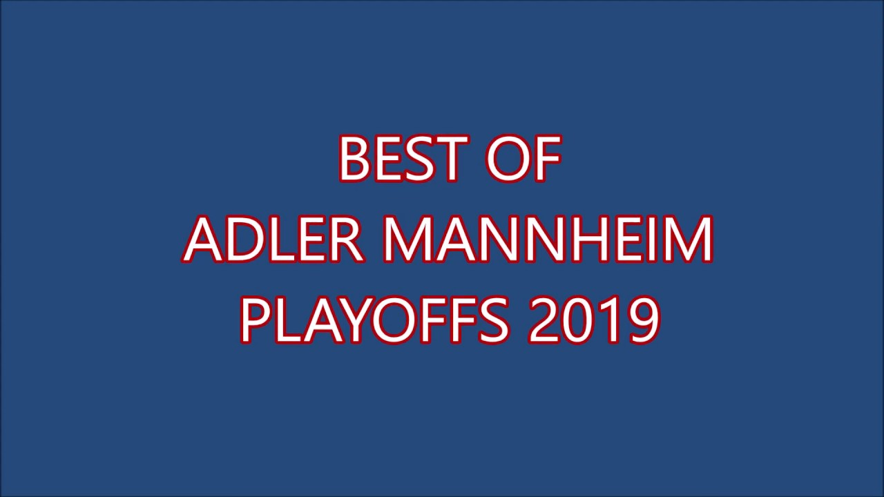 Adler Mannheim Playoffs