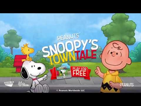 Snoopy Town Tale - New Game Trailer for Google Play
