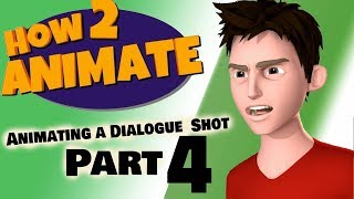 How to Animate a Dialogue Shot PART 4 | 3D Maya Animation Tutorial | HOW2ANIMATE