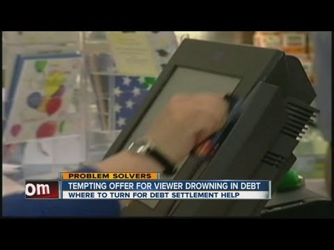 Considering debt settlement services