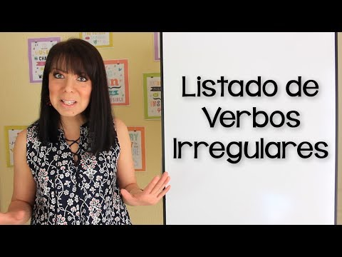 Como se pronuncian los verbos irregulares en ingles