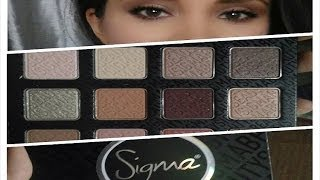 *NEW* Sigma ENLIGHT COLLECTION Warm Neutrals palette & Swatches Thumbnail