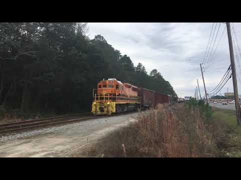 The Atlanta and St. Andrews bay railway in Panama City Florida video 1