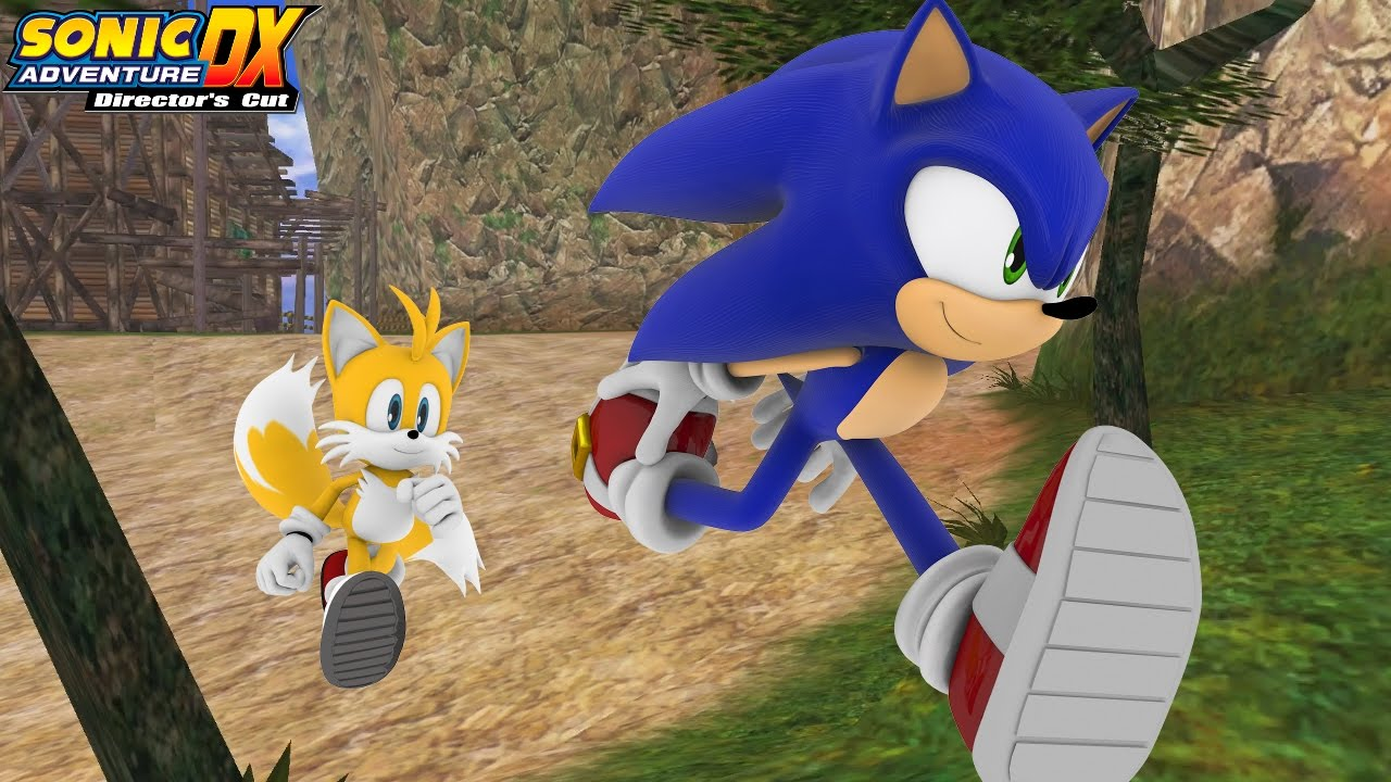 Sonic Adventure DX (PC) [4K] - Tails' Story (1/2)