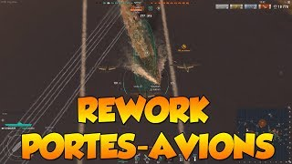 World Of Warships - Mon avis sur le rework des Portes-Avions (gameplay)
