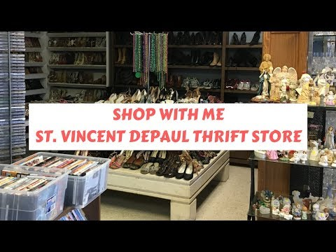 Shop With Me: St Vincent dePaul