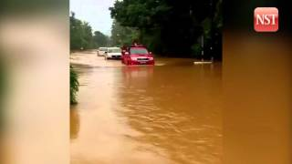 Flood: 240 people evacuated to relief centres in Terengganu