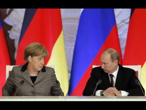 Путин, Меркель и Ципрас