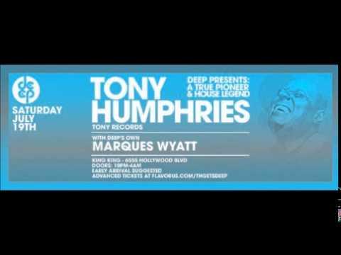 Tony Humphries @ Deep Presents A True Pioneer And Legend, King King, L.A. 19/07/2014
