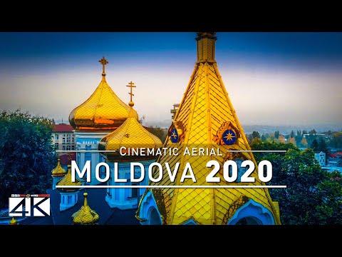 【4K】MOLDOVA from Above 2020 | Chisinau | Tiraspol | Cinematic Aerial Film