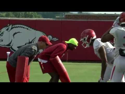 Arkansas Football Practice 9-18-18