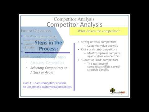 8 competitor analysis