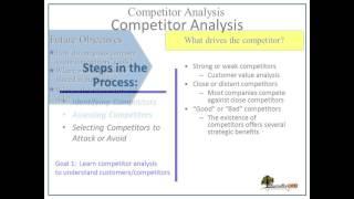 8 competitor analysis