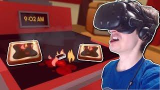 GOURMET CHEF CAUGHT COOKING ROACHES! - Job Simulator Gameplay - VR Gourmet Chef