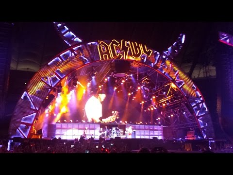 AC/DC - Let There Be Rock (25.07.2015 Warszawa) Całość!