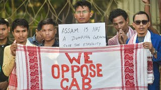 Assamese sit on 'dharna' against CAA in Mumbai