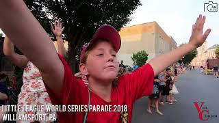 Little League World Series Parade 2018 VANCAMPEN MOTORS 2