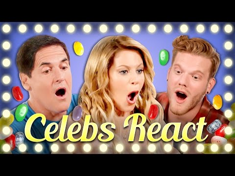 Thumbnail: CELEBS REACT TO BEANBOOZLED CHALLENGE