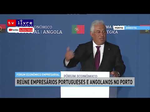 """""""Falar de Angola é falar de oportunidade"""" diz António Costa à empresários"""