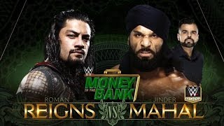 Roman Reigns vs Jinder Mahal at money in the bank | wwe 2K18