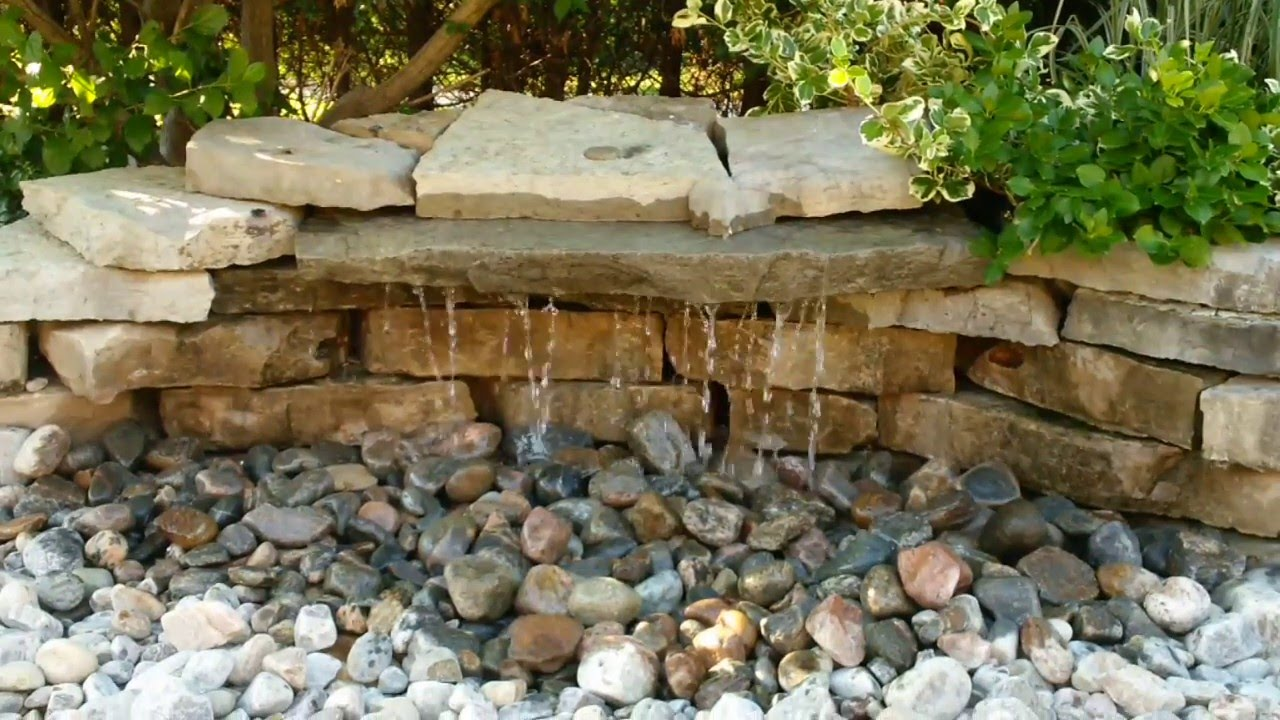 Sycamore Landscape Pondless Waterfall