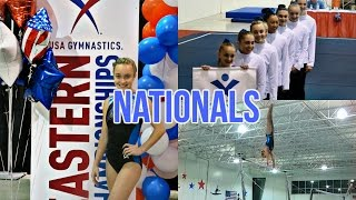 Level 9 Nationals Meet for Gymnastics! Luca Whitaker