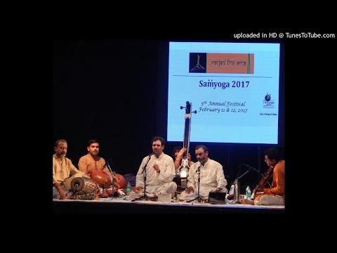 """Malladi Brothers Ranjani Fine Arts Concert Bangalore """"Samyoga"""" 2017"""
