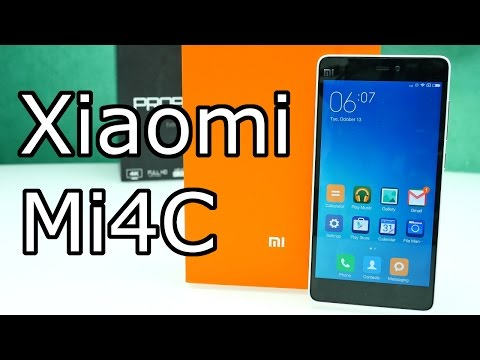 Xiaomi Mi4C - Unboxing & Hands On Test ! [4K]