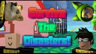 Repeat youtube video Family Game Nights Plays: Roblox - Survive the Disasters