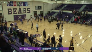 BSDN Live - Blair vs Concordia - Boys Basketball - 2018/19