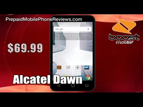 Boost Mobile Alcatel Dawn Available for $69.99