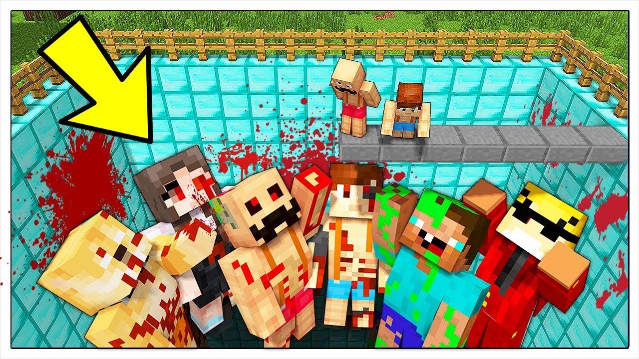 Download NON CADERE NELLA PISCINA DEGLI YOUTUBER CATTIVI! - Minecraft ITA