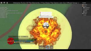Roblox |Arc of the Elements| Killing Spree!