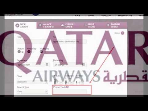 qatar airways promo code