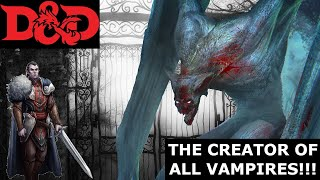 Vampyr from Curse of Strahd: the Elder Evil Vampire and Strahd's sire (D&D Compendium of Monsters)