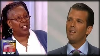 Don Jr. Drops This Old Video Of Whoopi After She Implies His Sons Have Abusive 'Tendencies'