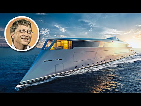 Bill Gates' $644 Million Hydrogen Powered Superyacht