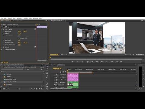 Premiere Pro Template Tutorial Virtual Studio 10 | Bluefx