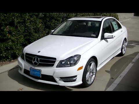 2014 mercedes benz c250 interior exterior tour youtube. Black Bedroom Furniture Sets. Home Design Ideas