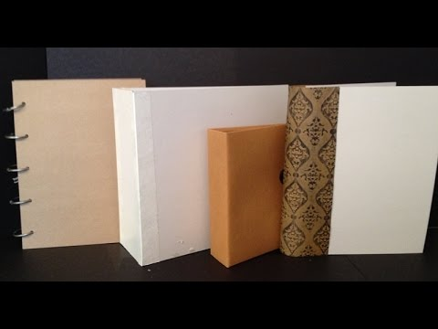 How to Make Book Covers for Mini Albums and Journals