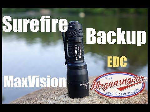 Surefire Backup MV Light Review: Dual Output EDC Excellence (HD)