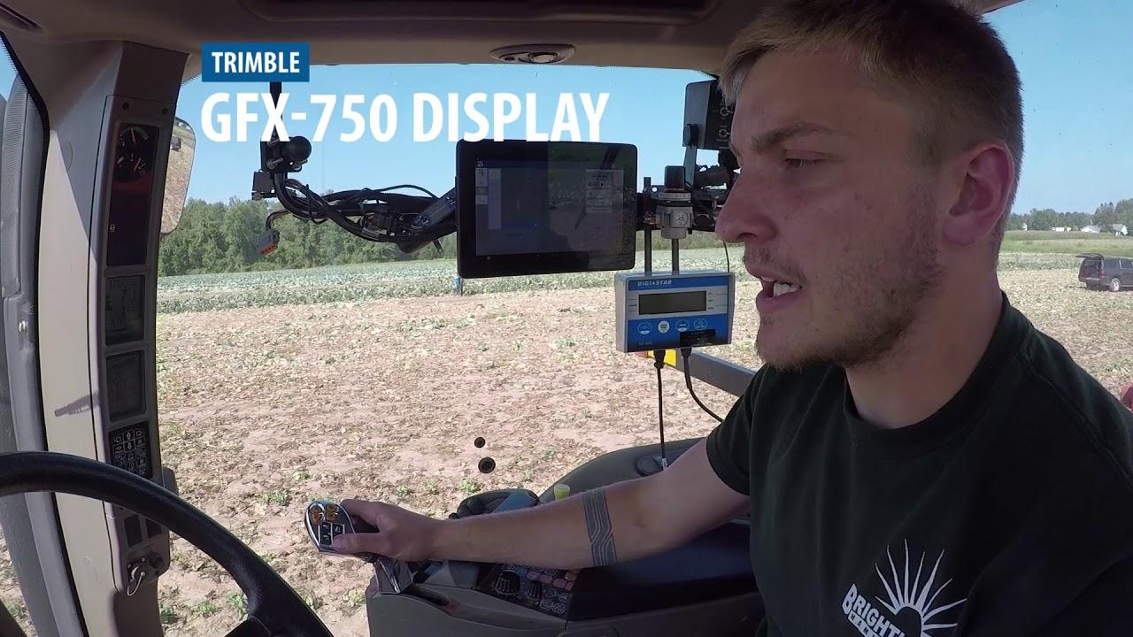 Trimble GFX-750 Display System Testimonial - Vegetable Grower