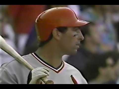 St. Louis Cardinals vs Chicago Cubs June 5, 1987
