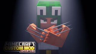 Minecraft - WOLVERINE'S EXPERIMENT - Custom Mod Adventure