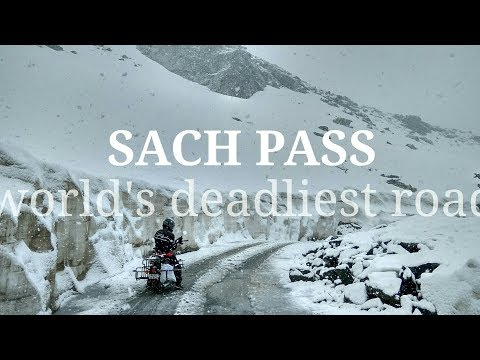 Conquering sach pass: A ride in snow through Worlds toughest road...:
