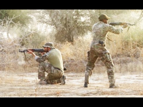Green Beret Special Forces conduct training of Niger soldiers