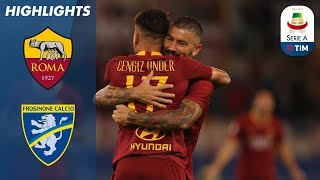 Download Video Roma 4-0 Frosinone | Roma Cruise to Home Win | Serie A MP3 3GP MP4